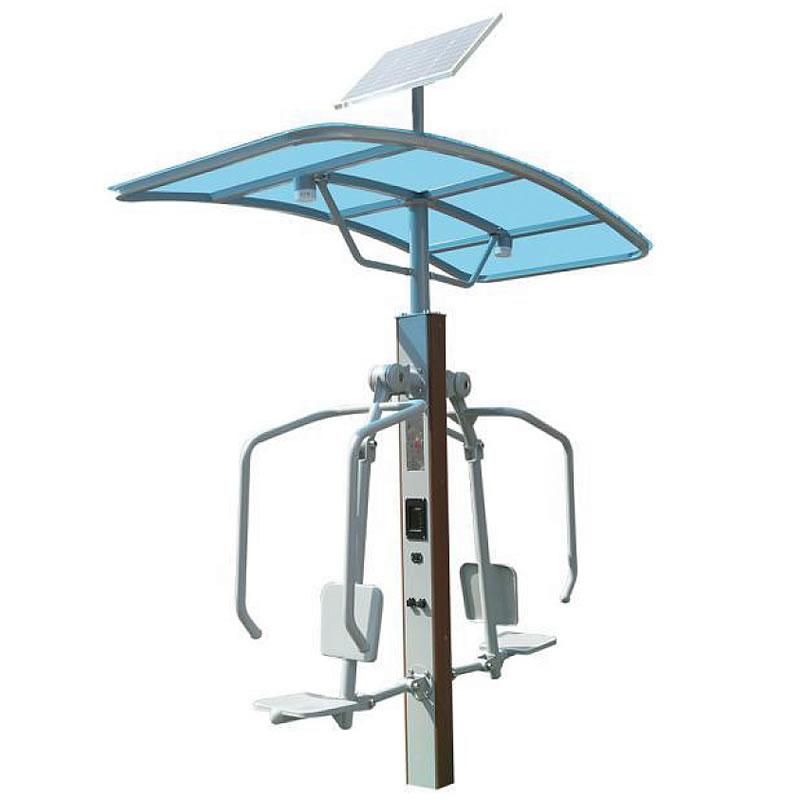 滚轮机械按摩椅