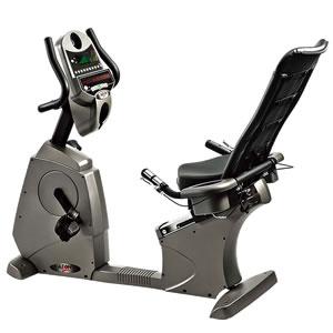 商用自发电卧式健身车